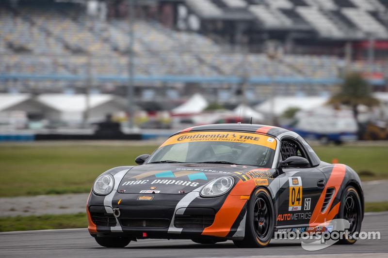 #04 Autometrics Motorsports 保时捷 Boxster: 雷默·鲁希蒂, 亚当·伊斯曼