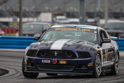 #158 Multimatic Motorsports Mustang Boss 302 R: Ian James, Billy Johnson