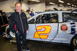 Rusty Wallace ready to test the #2 Team Penske Ford