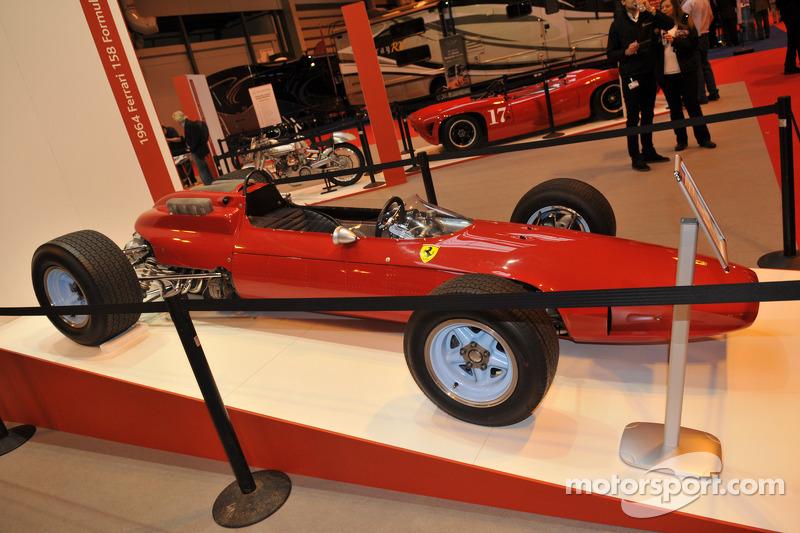 约翰·苏尔提斯的F1夺冠法拉利赛车