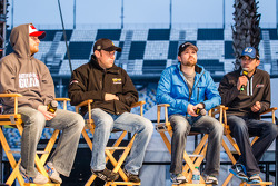 Drivers forum: Dale Earnhardt Jr., Hendrick Motorsports Chevrolet, Matt Kenseth, Joe Gibbs Racing Toyota, Ricky Stenhouse Jr., Roush Fenway Racing Ford, Aric Almirola, Richard Petty Motorsports Ford
