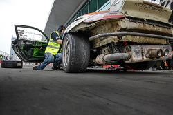 #96 Motorsport Services Porsche 997 Kupası: Malcolm Niall, Brett Niall, Mark Pilatti, Nathan Callaghan