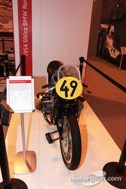 John Surtees Display, 1954 Bmw 500cc Motorcylcle