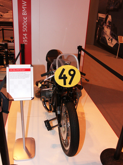 John Surtees Display, 1954 Bmw 500cc Motorcylcle