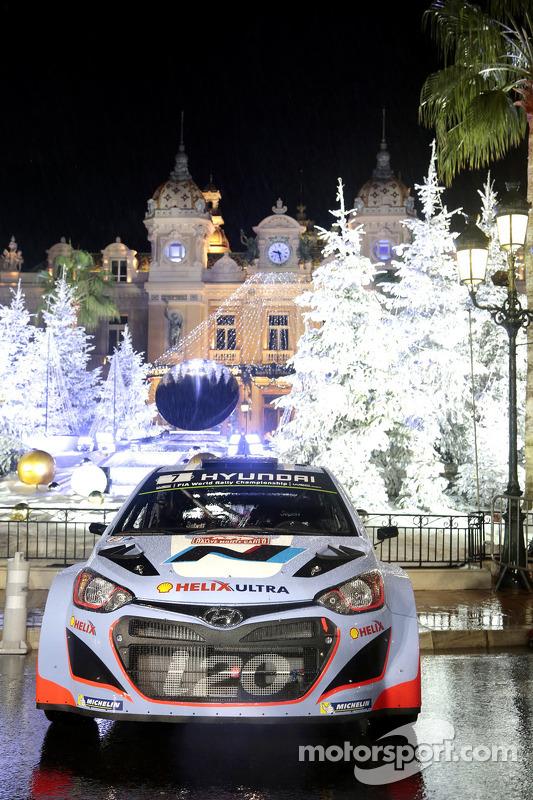 La i20 WRC Hyundai