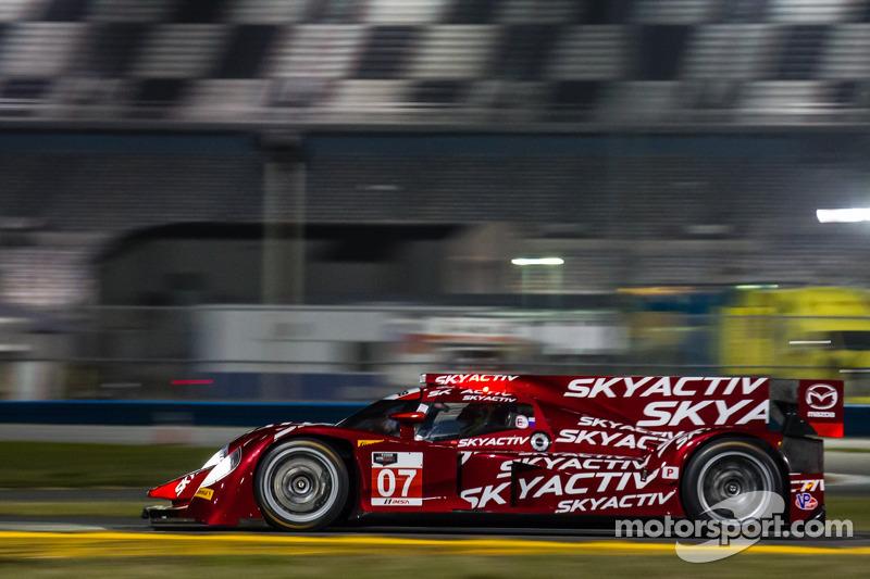 #07 SpeedSource Mazda Mazda: Tristan Nunez, Joel Miller