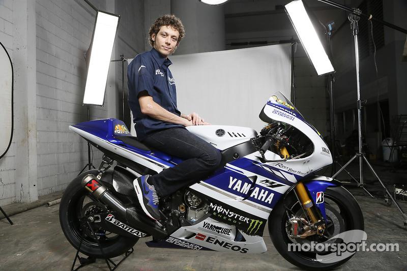 La Yamaha YZR-M1 di Valentino Rossi