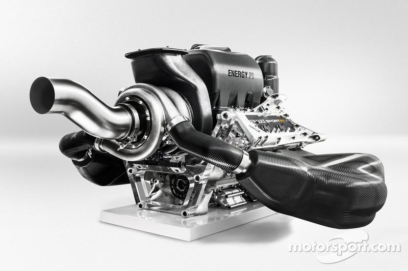 Il motore Renault Energy F1 V6 2014
