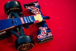 Il musetto e ala anteriore della Scuderia Toro Rosso STR9