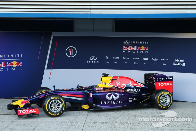 El Red Bull Racing RB10 2014