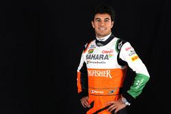 Серхио Перес. Презентация Sahara Force India F1 VJM07, Презентация.