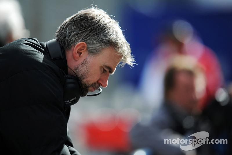 Adam Cooper, McLaren Press Officer