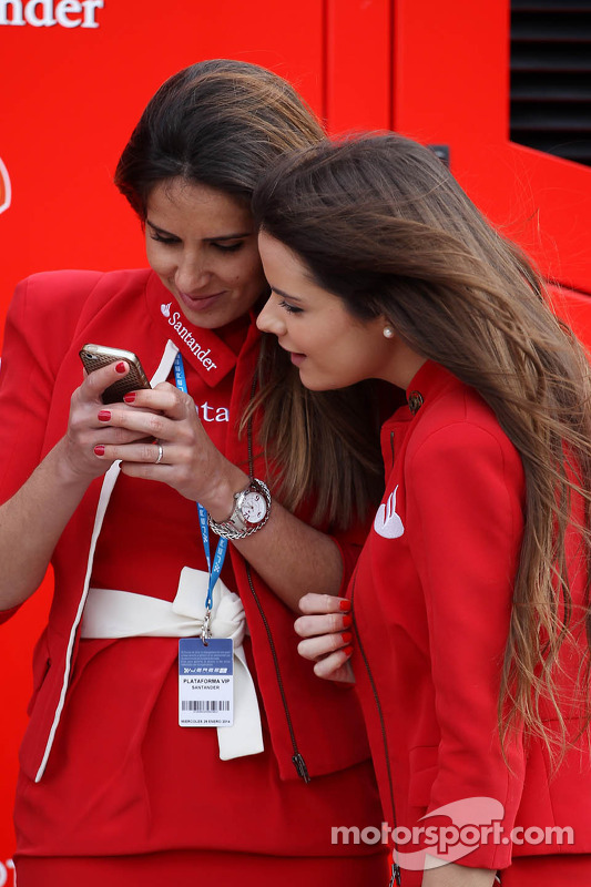 Chicas Santander