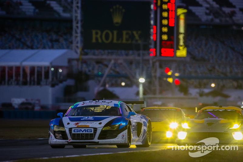 #32 GMG Racing 奥迪 R8 LMS: 詹姆斯·索夫罗纳斯, 阿历克斯·韦尔希, 弗兰克·斯提皮勒, 马克·巴桑
