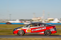 #73 Compass360 Racing Honda Civic Si: Benoit Theetge, Donald Theetge