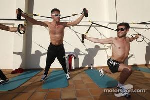 Andre Lotterer and Mike Rockenfeller