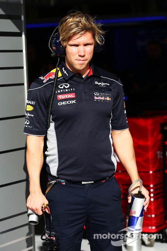 Antti Kontsas, Personal Trainer, de Sebastian Vettel, Red Bull Racing