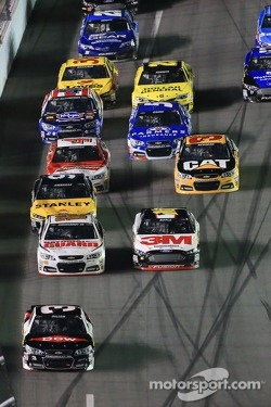 Austin Dillon, Richard Childress Racing Chevrolet leads