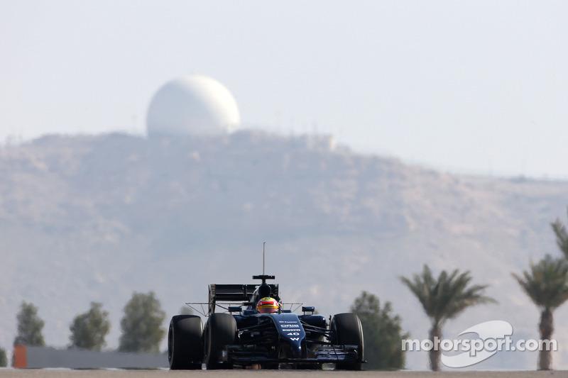 Felipe Nasr, third driver, Williams F1 Team