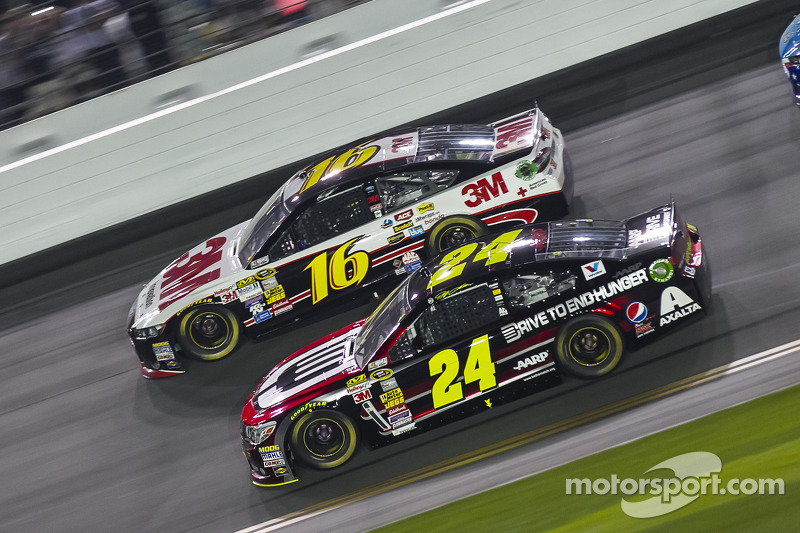 Jeff Gordon e Greg Biffle