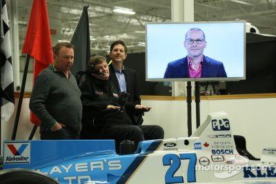 Jacques Villeneuve's Indy 500 teleconferentie