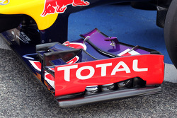 Red Bull Racing RB10 front wing detail