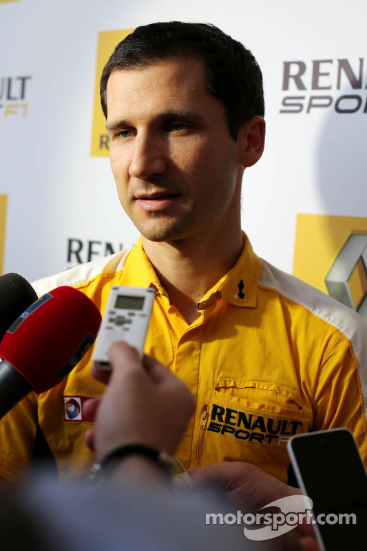 Remi Taffin, Renault Sport F1, Motorenchef
