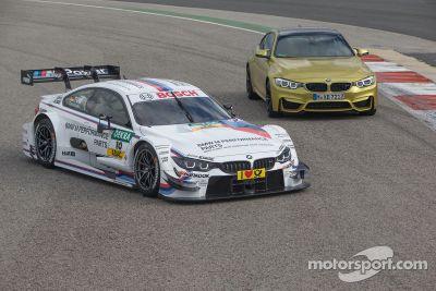 Présentation de la BMW M4 DTM
