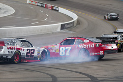 Brad Keselowski and Daryl Harr