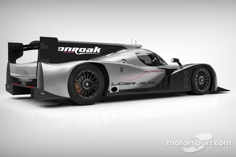 Onroak Automotive Ligier JS P2