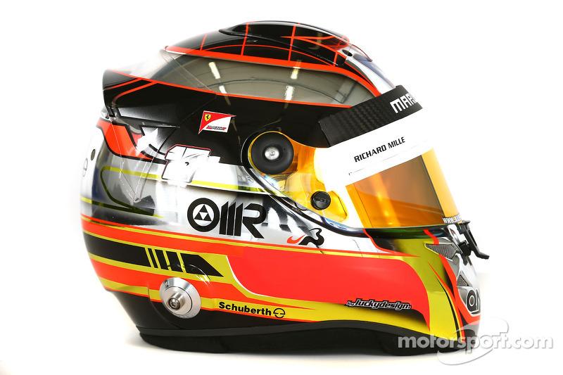 Il casco di Jules Bianchi, Marussia F1 Team