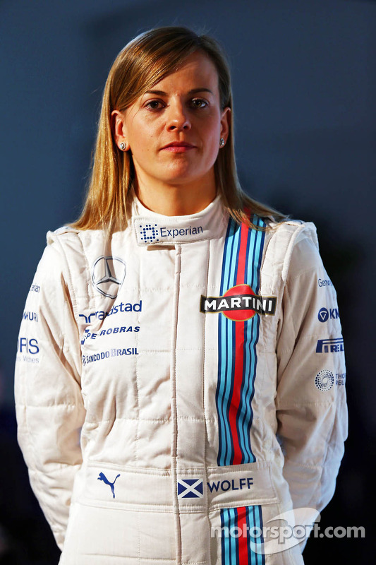 Susie Wolff, Williams F1 Team Martini