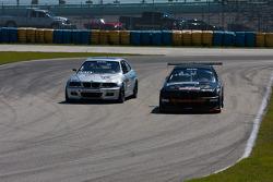#68 TLM USA BMW M3: David Tuaty; #7 MCM Holdings BMW M3: Michael Camus