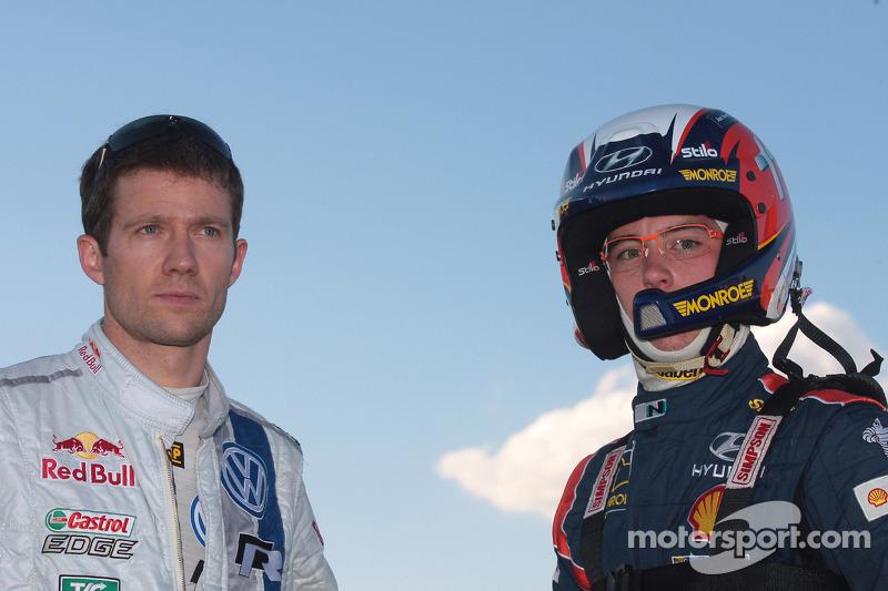 Sébastien Ogier e Thierry Neuville