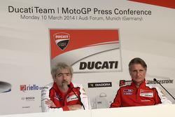 Conferencia de prensa de Ducati