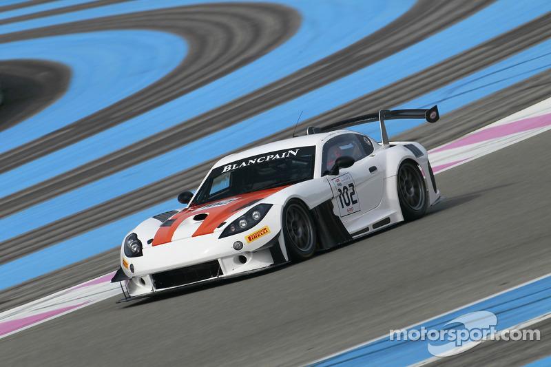 #102 Ginetta 赛车 - Team LNT Ginetta G55 GT3