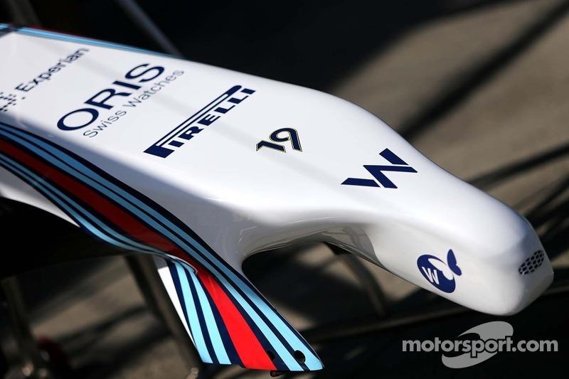 Williams F1 Team ala anteriore