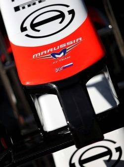 Marussia F1 Team alettone anteriore