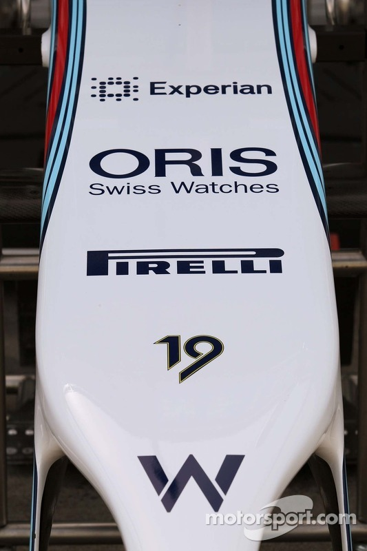 Williams FW36 bico.