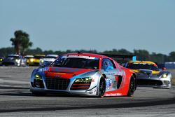 #35 Flying Lizard Motorsports 奥迪 R8 LMS: 赛斯·奈曼, 迪翁·冯莫尔特克, 亚历山德罗·拉蒂夫, 菲利普·阿布奎基