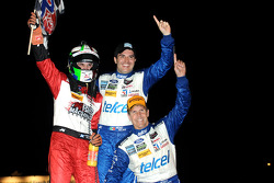 Overall winners Marino Franchitti, Memo Rojas, Scott Pruett