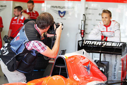Max Chilton, Marussia F1 Team photographed by Russell Batchelor, XPB Images Photographer