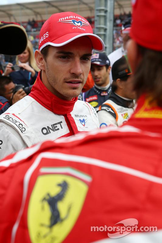 Fahrerparade: Jules Bianchi, Marussia F1 Team