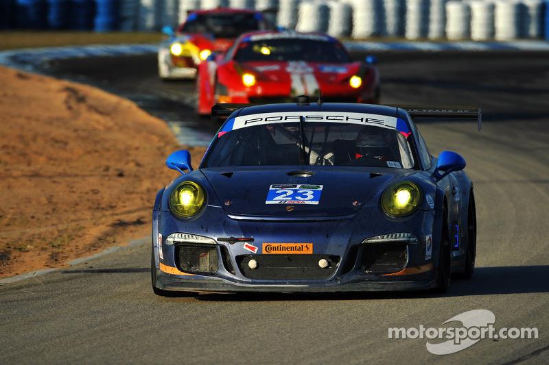 #23 Team Seattle / Alex Job Racing 保时捷 911 GT America: 伊恩·詹姆斯, 马里奥·法恩巴赫, 阿历克斯·里韦拉斯
