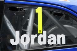 Andrew Jordan, Numero 1