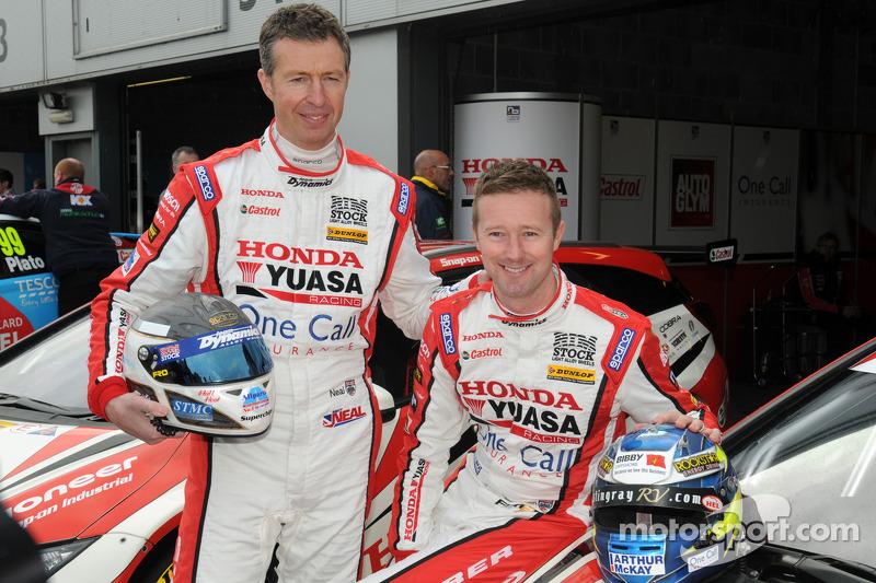 Honda Yuasa Racing Matt Neal e Gordon Shedden