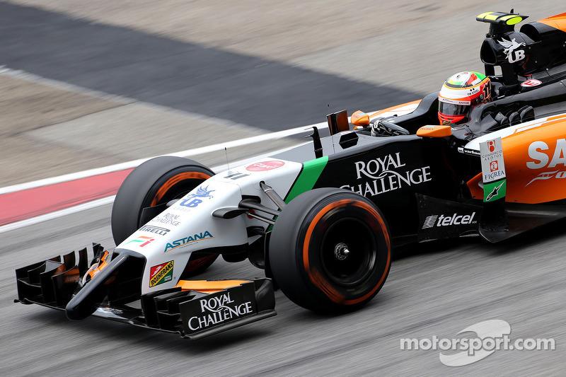 Sergio Perez (MEX), Sahara Force India