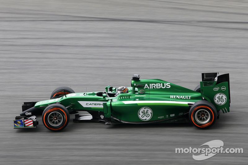 小林可梦伟(日),卡特汉姆F1车队