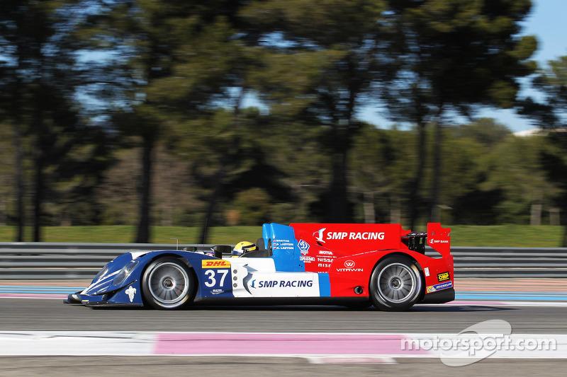 #37 SMP Racing - Oreca 03 - 日产: 基里尔·拉德金, 维克托·沙伊塔, 安通·拉德金