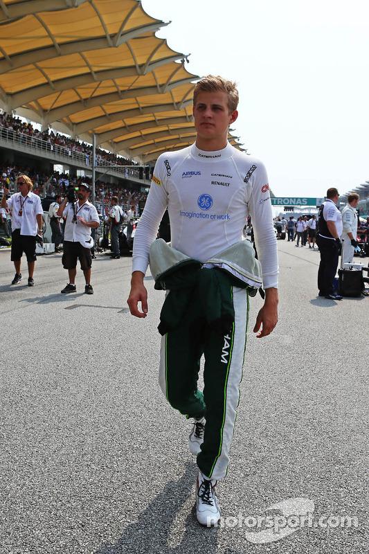 Marcus Ericsson, Caterham no grid
